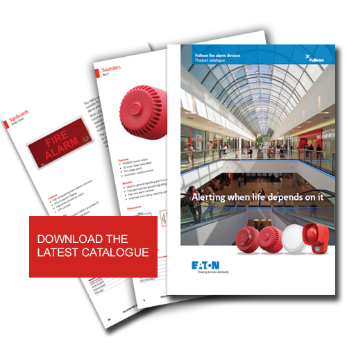 Fulleon Fire Alarm Catalogue - Sounders, Beacons, Fire Exit Signs, Sirens