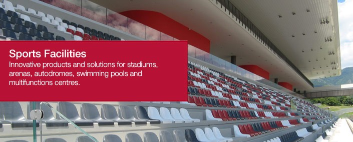 Sports Facilities Innovative Products and solutions for stadiums, arenas, autod
